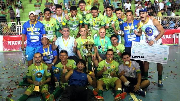 Tianguá, campeão, Copa TV Verdes Mares (Foto: Zé Rosa Filho/Divulgação)