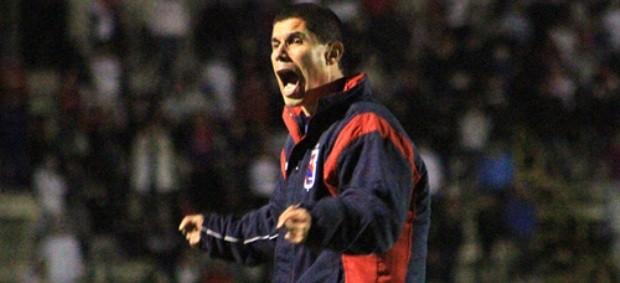 Técnico Ricardinho, do Paraná Clube (Foto: Divulgação/Site oficial do Paraná Clube)