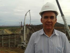 O ministro da integração disse que mais de 50% do projeto foram executados (Foto: Jadir Souza/TV Grande Rio)