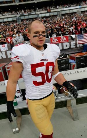Chris Borland, do San Francisco 49ers (Foto: Getty)