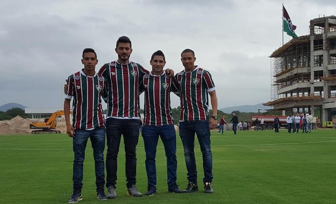 Reforços Fluminense (Foto: Hector Werlang)