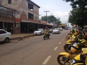 Taxistas e mototaxistas temem que nova lei seja utilizada de forma indiscriminada (Foto: Ísis Capistrano/ G1)