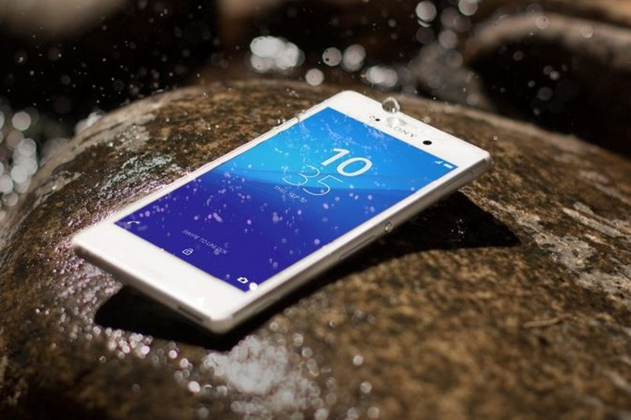 Sony Xperia M4 Aqua - home (Foto: Divulgação/Sony)