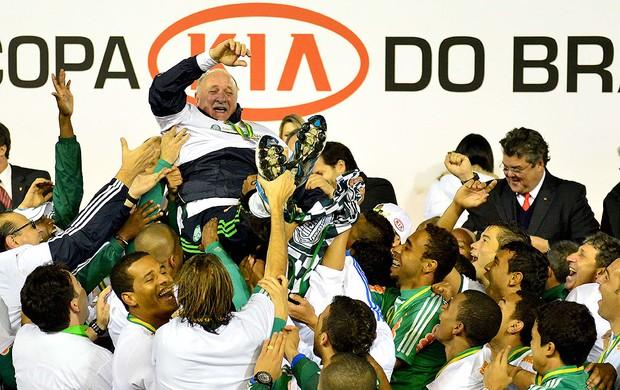 Palmeiras campeão da Copa do Brasil, Felipão (Foto: Marcos Ribolli / Globoesporte.com)