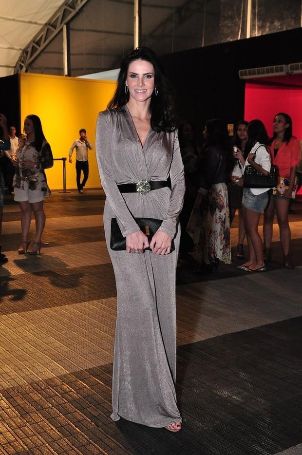 Fashion Rio - Lisandra Souto (Foto: Roberto Teixeira/EGO)