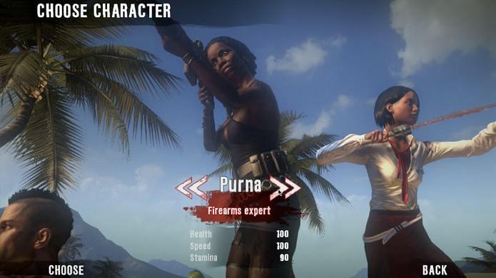 Purna é uma personagem tentadora, mas armas de fogo são escassas em Dead Island (Foto: mobygames.com)