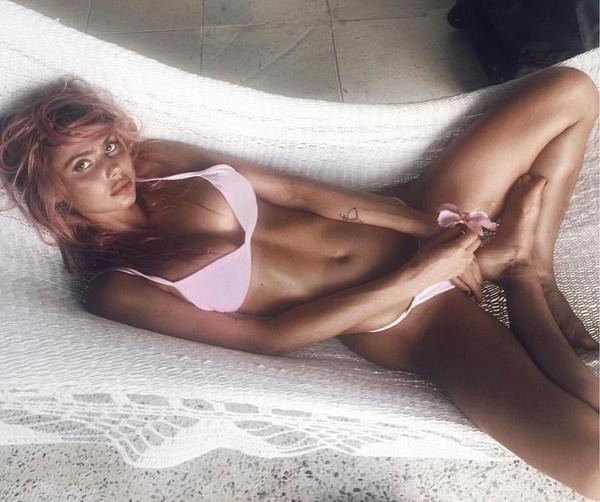 A modelo Sahara Ray (Foto: Instagram)