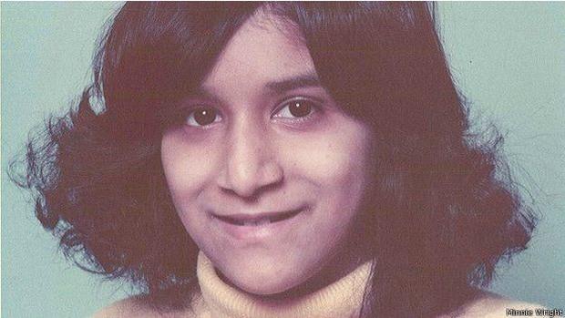 Minnie era assim quando começou a sofrer com o TDC (Foto: Minnie Wright/BBC)