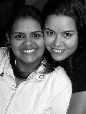 Nathalia Batista da Silva e Tabata Cristiane Kakishita Penteado oficializaram casamento civil homoafetivo em Indaiatuba (SP) (Foto: Divulgação/Arquivo Pessoal)