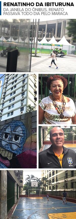 O Maraca da janela do ônibus, marcas na parede e o sorriso de dona Lucia e de Marcelo: recordações de um passado tijucano (Foto: Raphael Zarko)