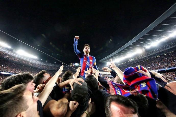 Messi Barcelona x PSG (Foto: Divulgação)