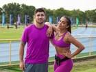 Anitta é só elogios ao personal: 'Responsável por meu interesse no treino'