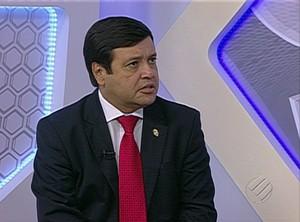 Alberto Maia, presidente do Paysandu (Foto: Reprodução/TV Liberal)