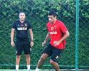 Diego Souza treina normalmente e deve reforçar o Sport contra o Inter