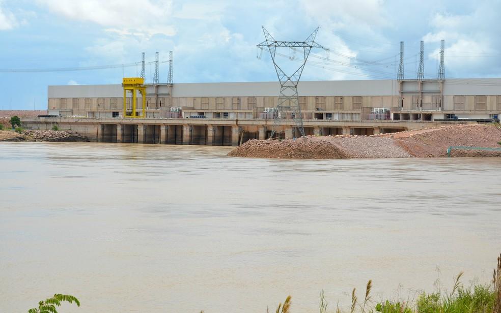 UHE Jirau foi inaugurada em dezembro do ano passado ao custo de mais de R$ 19 bilhões (Foto: Giseli Buscariollo/G1)