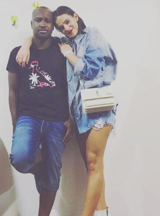 Thiaguinho e Bruna Marquezine (Foto: Reprodução/Instagram)