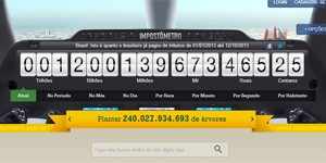 Impostômetro - 1,2 trilhão (Foto: Reprodução)