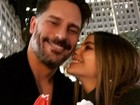 Sofia Vergara faz programa romântico com Joe Manganiello
