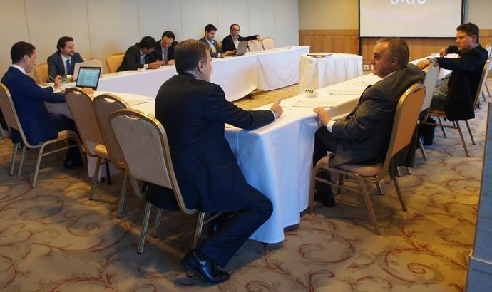 Reunião da Primeira Liga  (Foto: Daniel Mundim)