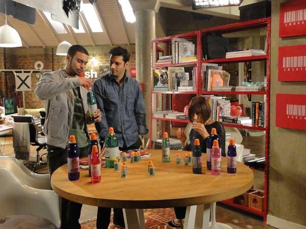 Sucesso total na Campanha da Crash Mídia para  Mr. Músculo®  (Foto: Sangue Bom/TV Globo)