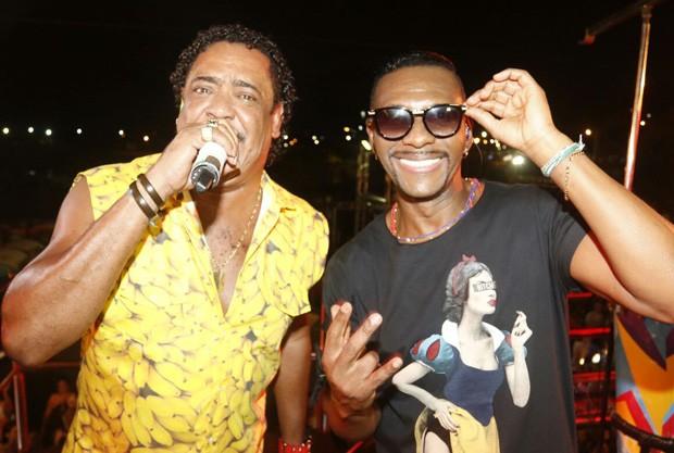 Compadre Washington e Beto Jamaica (Foto: Fred Pontes/Balada In/Divulgação)