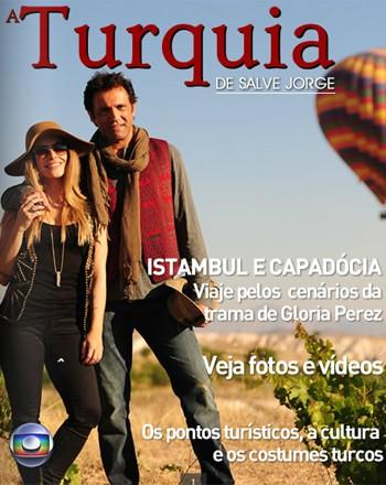 Revista A Turquia de Salve Jorge traz fotos e vídeos do elenco nas gravações  (Foto: João Miguel Jr./ TV Globo)