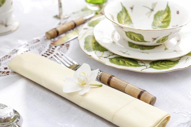 Dá para misturar guardanapo de papel e de tecido? (Foto: divulgação)