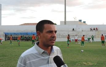 Evandro Guimarães fica satisfeito com atuação do Salgueiro contra o Bota-PB