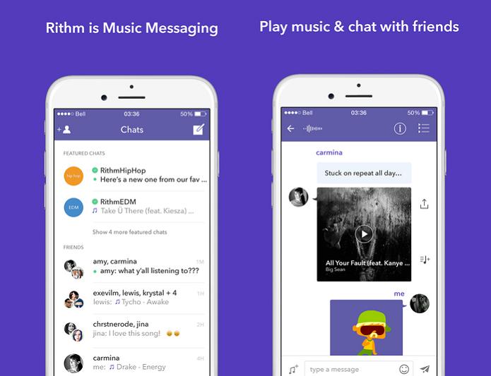 Rithm é um novo serviço de streaming de músicas (Foto: Divulgação)