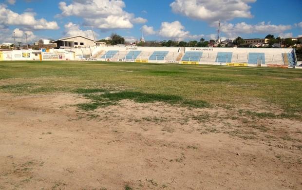 Estádio Joaquim de Brito Pesqueira (Foto: Lula Moraes / GloboEsporte.com)