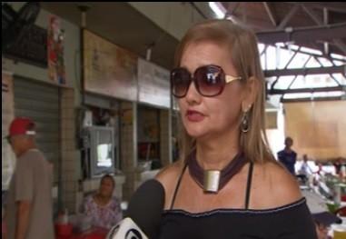 Assistente da Vigilância Sanitária do Recife, Márcia Campos, disse haverá fiscalização nos três turnos (Foto: Reprodução/ TV Globo)