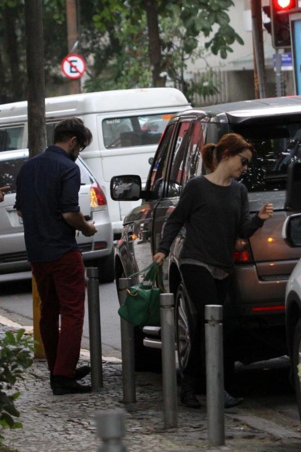 Débora Falabella e Murilo Benício (Foto: J. Humberto / AgNews)