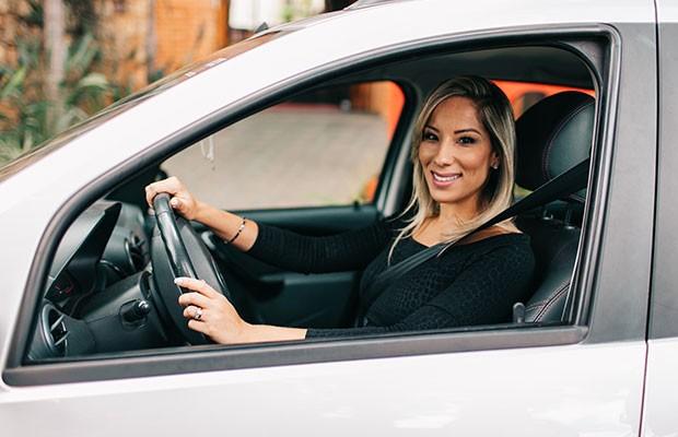 Gabriela Correa, fundadora da Lady Driver (Foto: Maria Emilia Dinat/Lady Driver)