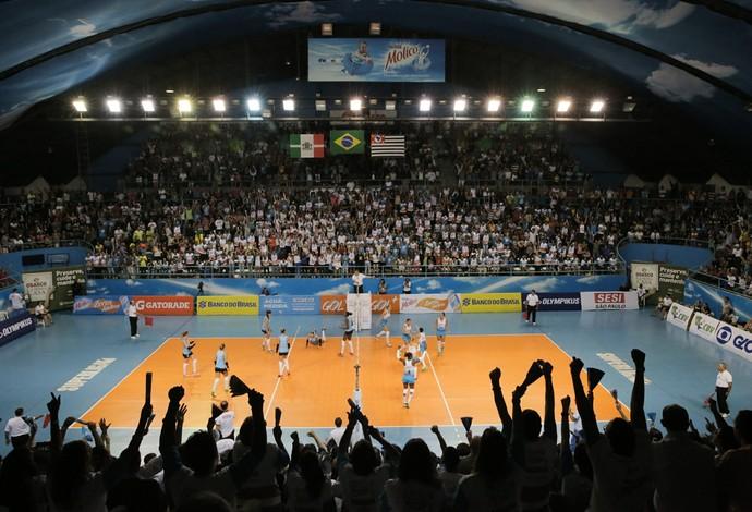 Osasco X Sesi-SP - Superliga - semi (Foto: João Pires/divulgação)