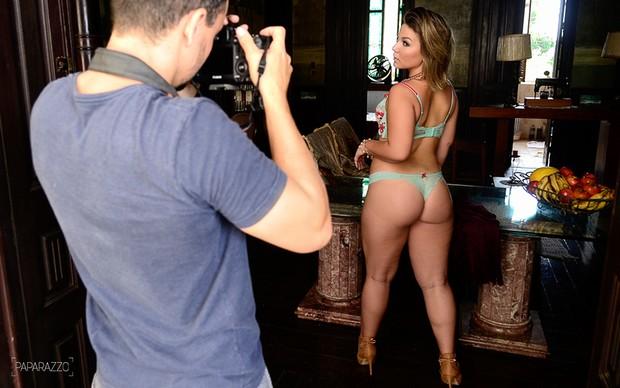 Making of Cacau para o Paparazzo (Foto: Roberto Teixeira / Paparazzo)