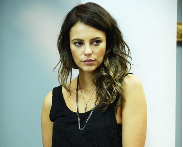 'Denise mexeu com o imaginário coletivo', diz Paolla sobre personagem em minissérie (Foto: Globo/Zé Paulo Cardeal)