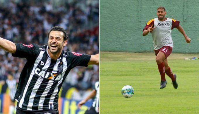 Atacante Genesis, do Boa Esporte, tem o mesmo número de gols na temporada que Fred (Foto: Reprodução EPTV)