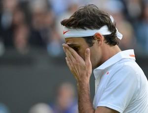 tênis Federer perde Sergiy Stakhovsky Wimbledon (Foto: AP)