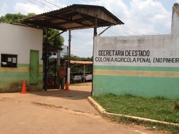 Colônia Agrícola Penal Ênio Pinheiro, em Porto Velho (Foto: Hosana Morais/G1)
