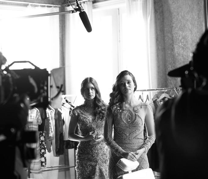 Acompanhe 'Totalmente Demais' e confira as cenas de Cassandra e Eliza em mais uma etapa do concurso (Foto: Raphael Dias/ Gshow)