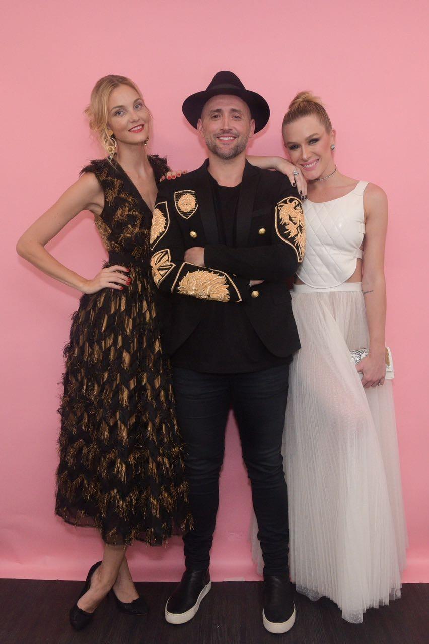 Trio de apresentadores do Geração Glamour  (Foto: Reprodução)