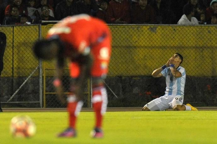 Zampedri Tucuman El Nacional Libertadores (Foto: AFP)
