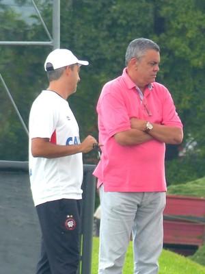 Marcelo Vilhena Paulo Carneiro Atlético-PR (Foto: Monique Silva)