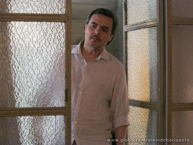 Será que o Líder Jorge vai perceber a movimentação? (Foto: Além do Horizonte / TV Globo)