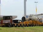 Rodovia tem esquema diferenciado para a passagem de carga especial
