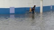 Chuva causa transtornos na cidade de Cabo Frio, no RJ