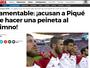 Gesto de Piqué durante hino gera repercussão negativa na Espanha