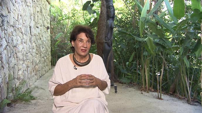 Psicanalista Betty Milan fala sobre os desafios do envelhecimento (Foto: TV Bahia)