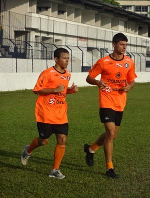 Edilsinho e Carlinho Rech Remo (Foto: Globoesporte.com)