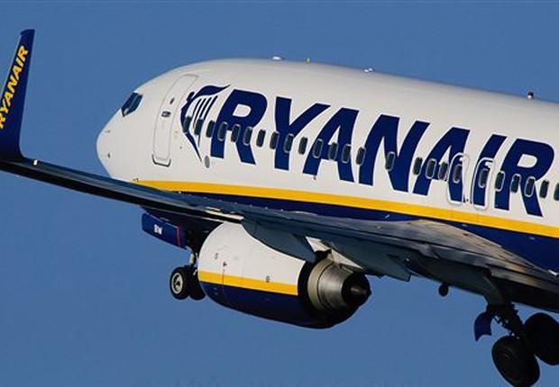 Boeing da Ryanair (Foto: Reprodução)